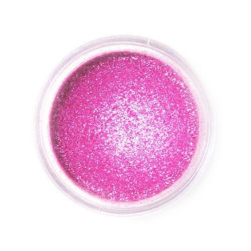 Dekoratívne prachová perleťová farba Fractal - Sparkling Magenta, Szikrázó magenta (3,5 g)