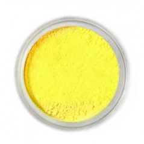 Jedlá prachová farba Fractal - Lemon Yellow, Citromsárga (3 g)
