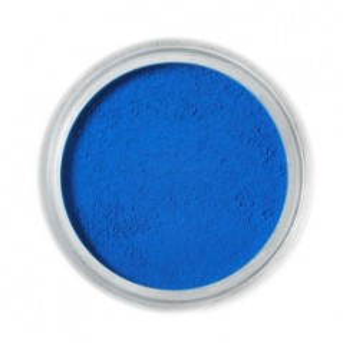 Jedlá prachová farba Fractal - Azure, Azúrkék (2 g)