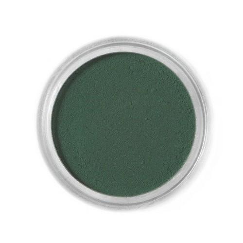 Jedlá prachová farba Fractal - Dark Green, Sötét zöld (1,5 g)