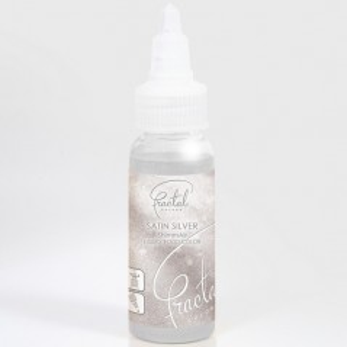 Airbrush perleťová farba tekutá Fractal - Satin Silver (33 g)