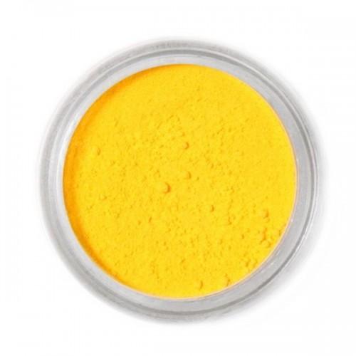 Jedlá prachová farba Fractal - Canary Yellow, Kanar sárga (2,5 g)
