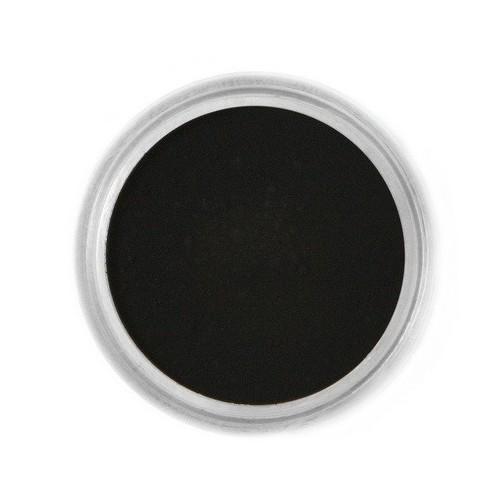Jedlá prachová farba Fractal - Black, Fekete (1,5 g)