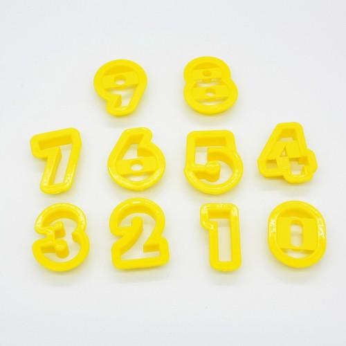 Vykrajovadlá čísla - 10ks