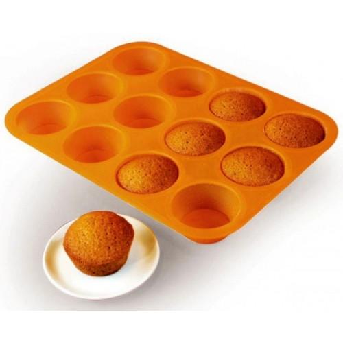 Silikónová forma -  muffins / Cupcakes 12