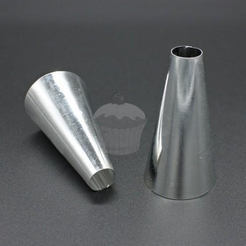 Zdobiace špička - guľatá hladká - 10mm - Indián