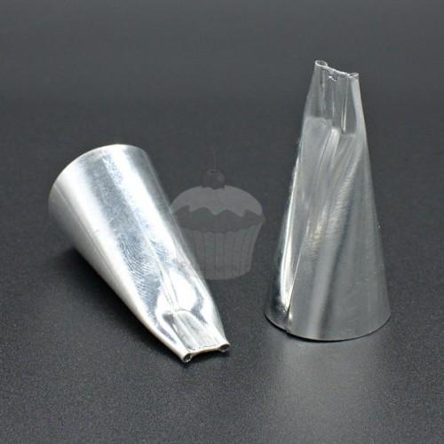 Zdobiace špička - guľatá hladká - 2 x 1mm