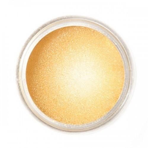 Jedlá prachová perleťová farba Fractal - Golden Shine, Arany homok (3,5 g)