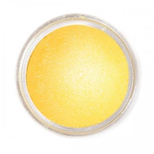 Jedlá prachová perleťová farba Fractal - Sunflower Yellow, Napsárga (1,5 g)