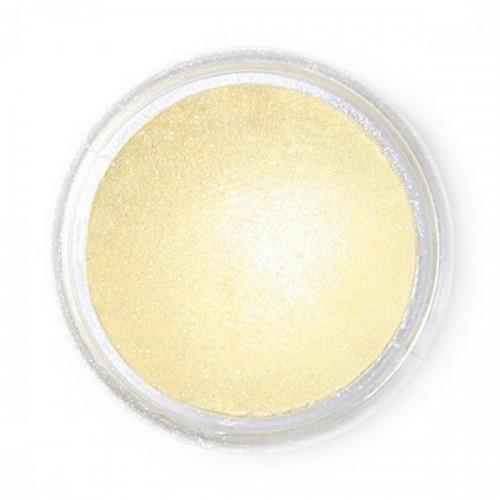 Jedlá prachová perleťová farba Fractal - Lemon Mist, Vanília (2,5 g)