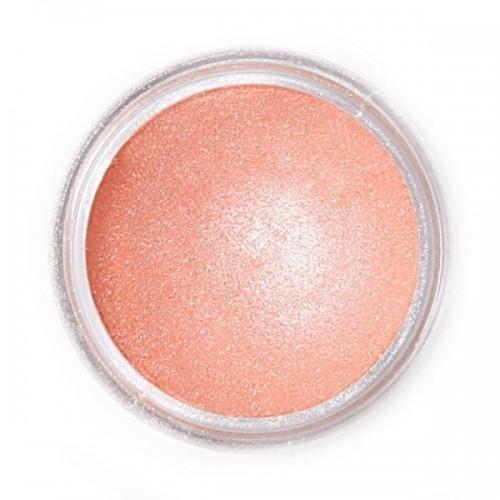 Jedlá prachová perleťová farba Fractal - Monticello Peach, Csillagköd rózsaszín (2,5 g)