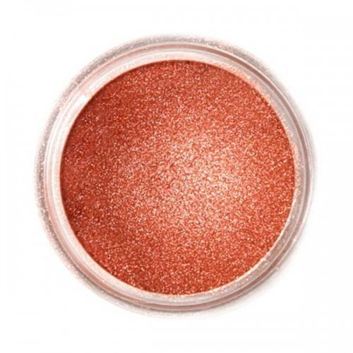 Jedlá prachová perleťová farba Fractal - Glowing Bronze, Izzó bronz (3 g)
