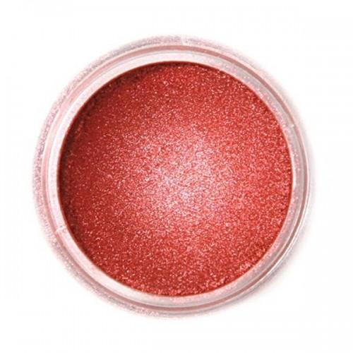 Jedlá prachová perleťová farba Fractal - Red Copper, Izzó vörös (3 g)