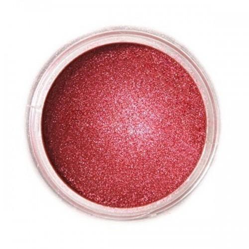Jedlá prachová perleťová farba Fractal - Ruby, Bíborvörös (3 g)