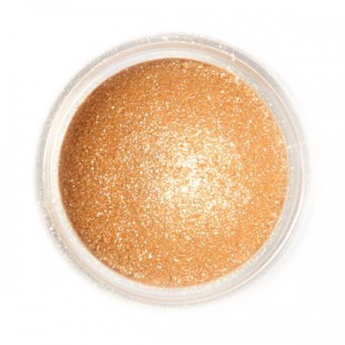 Jedlá prachová perleťová farba Fractal - Sparkling Gold, Szikrázó arany (3,5 g)