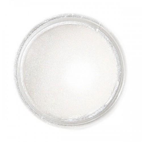 Jedlá prachová perleťová farba Fractal - Pearl White, Gyöngyház fehér (3,5 g)