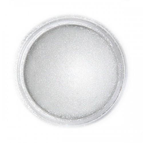 Jedlá prachová perleťová farba Fractal - Light Silver, Világos metál ezüst (3 g)