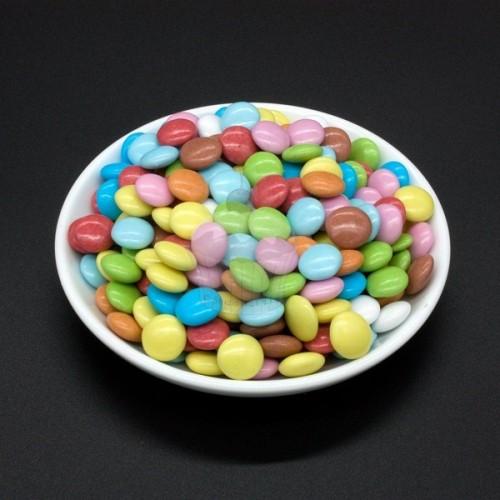 Čokoládové pecky - farebné - 50g