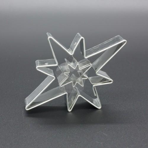 Vykrajovátko - Hviezda 8 cípov + hviezdička