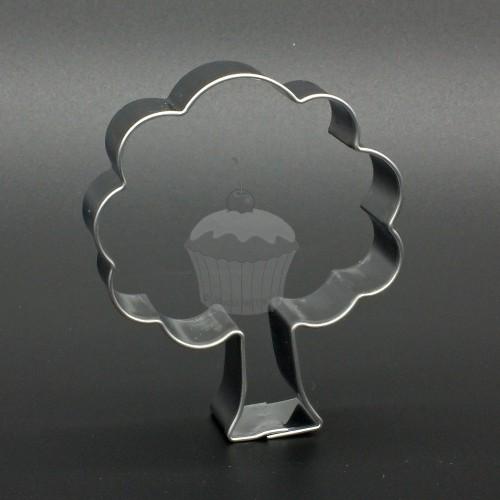 Nerezové vykrajovátko -  listnatý strom