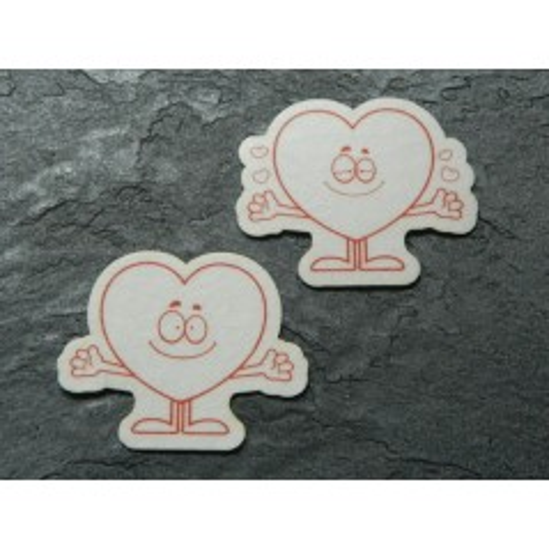 Jedlý papier - zamilovaná srdiečka - 8ks