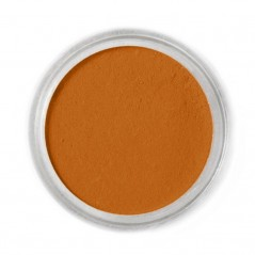 Jedlá prachová farba Fractal - hnědá - Squirrel Brown, Mókusbarna (1,7 g)