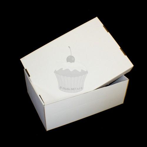 Krabice na poschodový tortu - extra pevná - Kniha - 59 x 42 x 21 cm