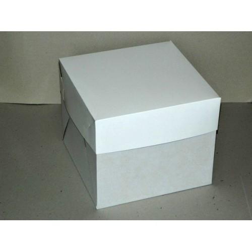 Krabice na dortík 14 x 14 x 9 cm / 10ks