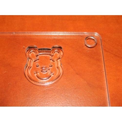 Forma na čokoládové ozdoby - Medvídek Pú