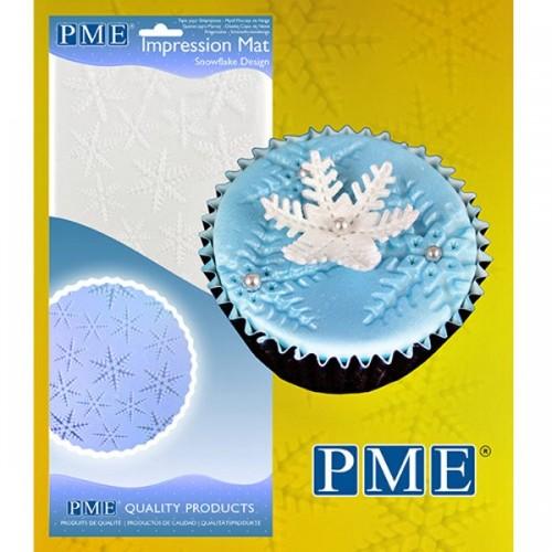 PME Odtlačková podložka Snowflake  - snehová vločka
