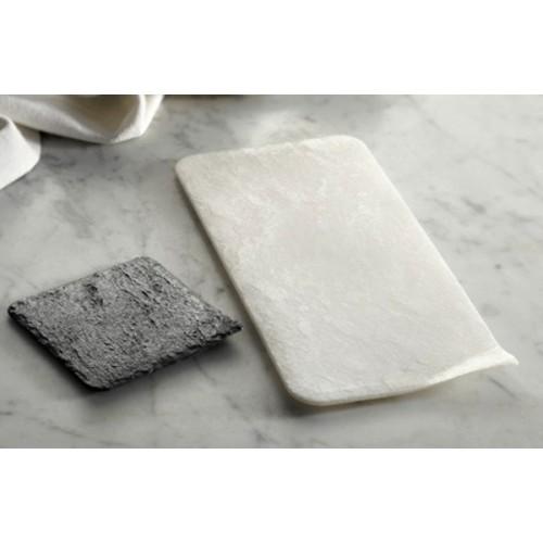 Alcas - podnos Stone - biely 30 x 14cm