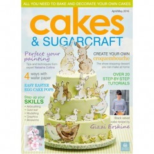 Cakes & Sugarcraft - apríl / máj  2016
