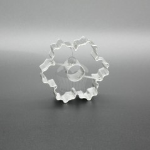 Ausstechformen/Ausstecher - Geriffelter Blume + Rädchen
