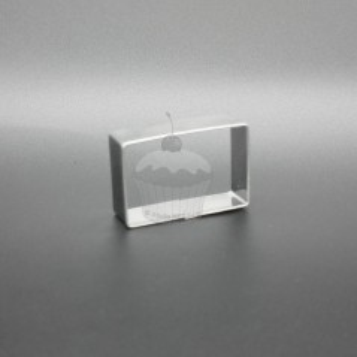 Nerezové vykrajovátko - Obdĺžnik 4,8 x 3,1cm