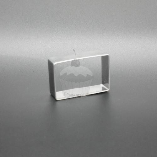Nerezové vykrajovátko - Obdélník 3,2 x 2,1cm