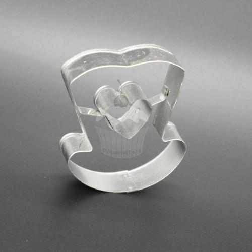 Cutter - Cradle + heart