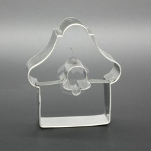 Vykrajovátko - chaloupka - zvoneček