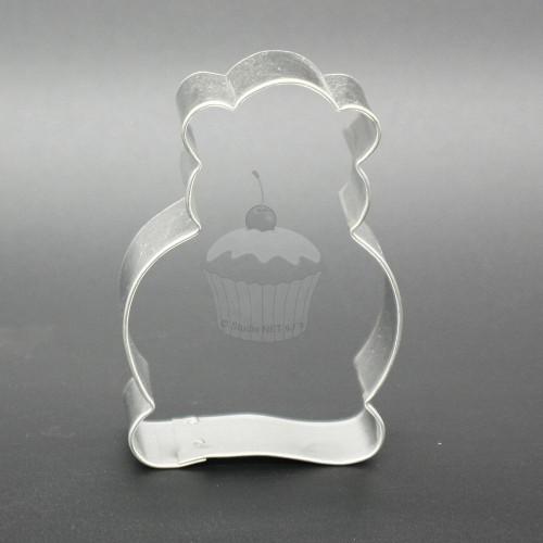 Vykrajovač - sediaci medvedík