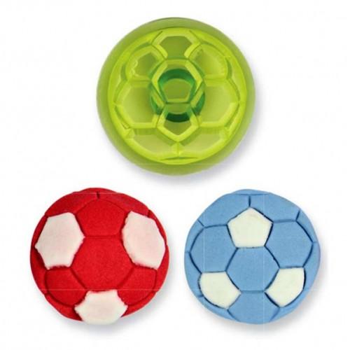 JEM - patchwork futbalová lopta 1ks