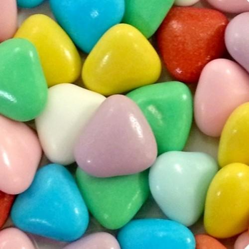 Čokoládová srdiečka - barevná- 50g
