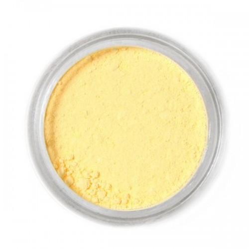 Jedlá prachová farba Fractal - Light Yellow, Halvány sárga (4 g)