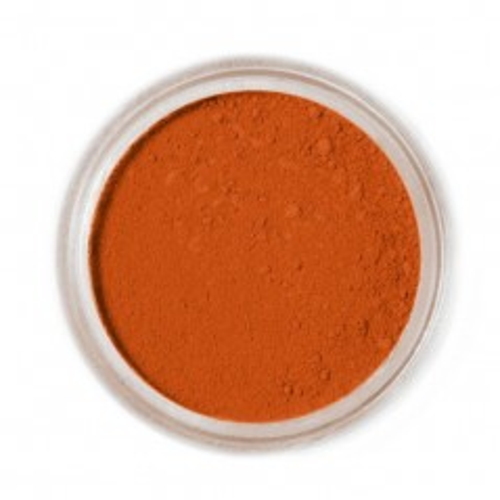 Jedlá prachová farba Fractal - Terracotta, Terrakotta (1,3 g)