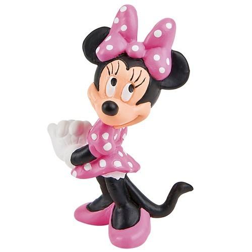 Dekoračné figúrka - Minnie Mouse - ružová