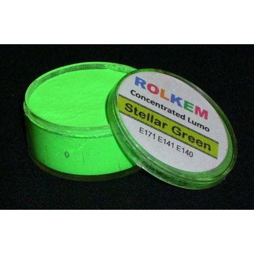 Rolkem Neónové prachová farba (10 g) Stellar Green