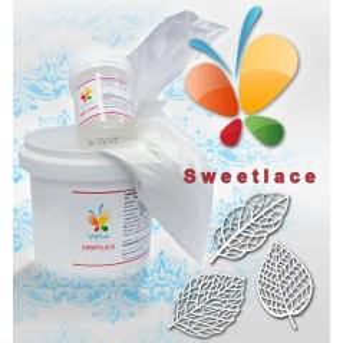 Sweet Lace  - jedlá čipka - zmes - biela - 200g