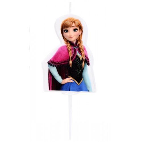 Disney malá tortová sviečka Frozen - ANNA