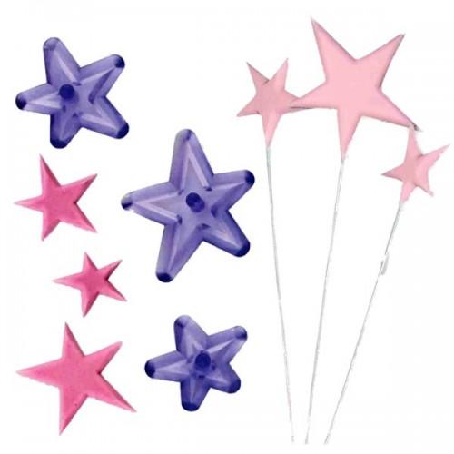 JEM - patchwork hviezdy - 3ks