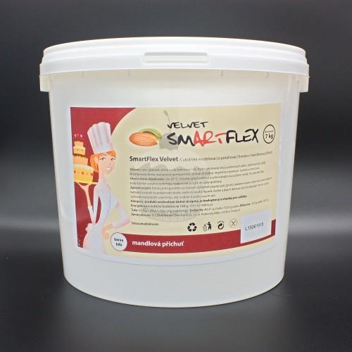 Smartflex velvet vanilka 7kg - potahovací hmota