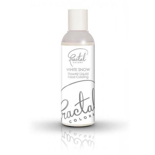 Airbrush farba tekutá Fractal - White Snow (100 ml)