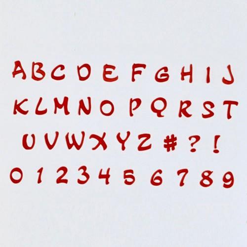FMM Velká abeceda a čísla - Magical